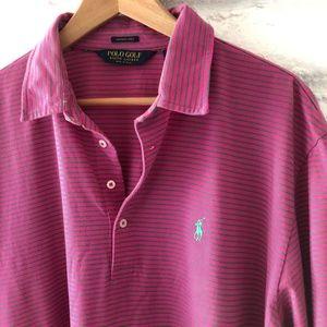 Golf Polo Ralph Lauren Vintage Lisle XL